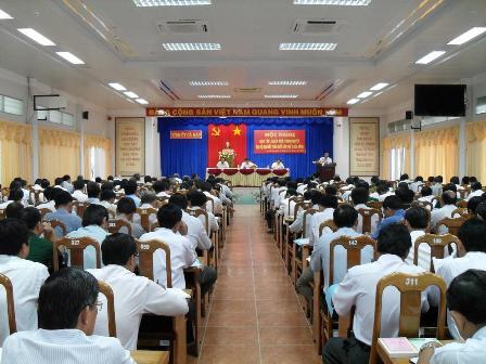 Cà Mau: 29.812 lượt đảng viên học tập, quán triệt Nghị quyết Đại hội XI của Đảng