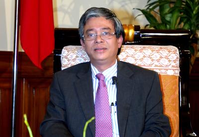 Thứ trưởng Bộ Ngoại giao Phạm Quang Vinh. (Ảnh: VGP)