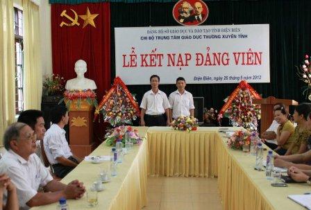 Điện Biên: Chuyển biến tích cực trong công tác xây dựng Đảng ở các trường học