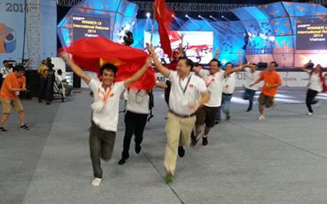 Việt Nam vô địch Robocon Châu Á – Thái Bình Dương