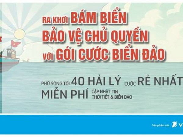 Vinaphone tặng 2.000 sim biển đảo cho ngư dân tỉnh Phú Yên