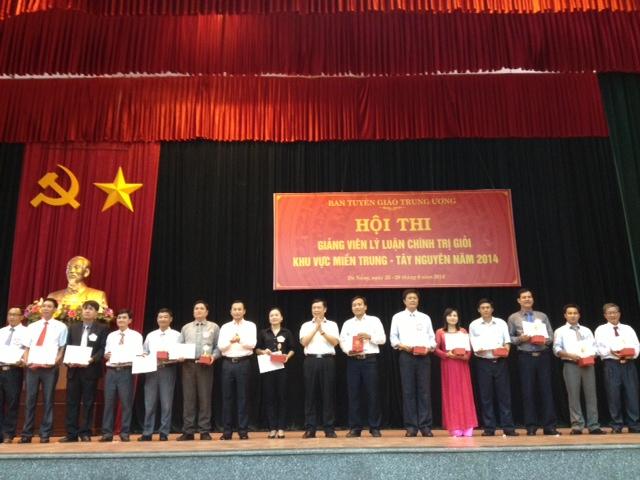 53 thí sinh tham dự Hội thi Giảng viên lý luận chính trị giỏi khu vực miền Trung - Tây Nguyên